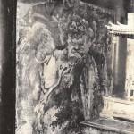 朝田寺本堂壁面の蕭白 阿形