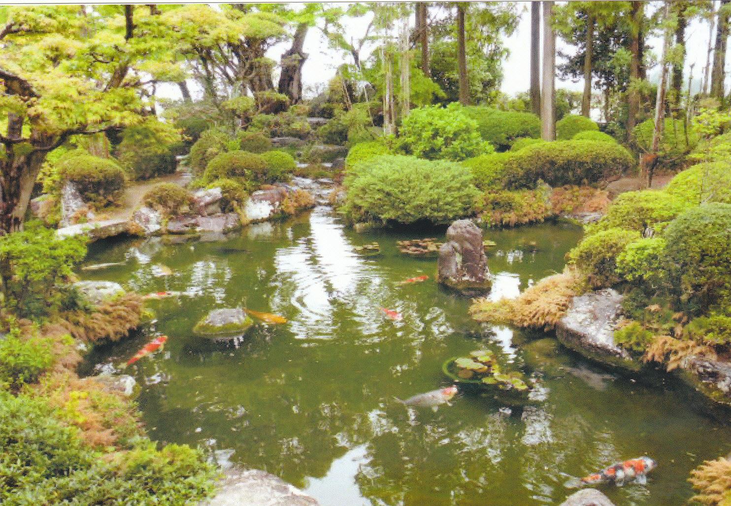 松阪 朝田寺庭園