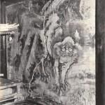 朝田寺 本堂壁面 蕭白吽形