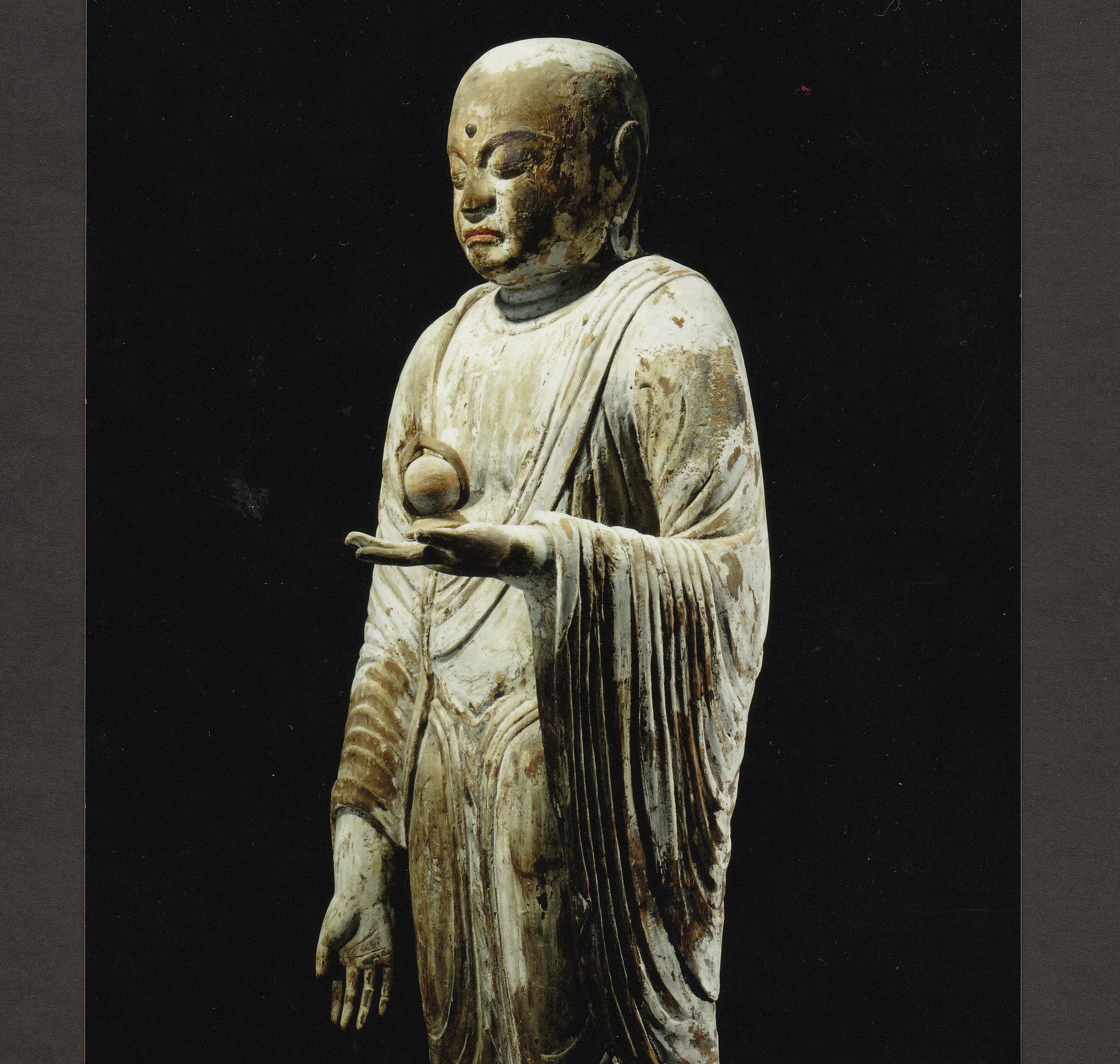 道明け供養と地蔵菩薩(重文)のイメージ