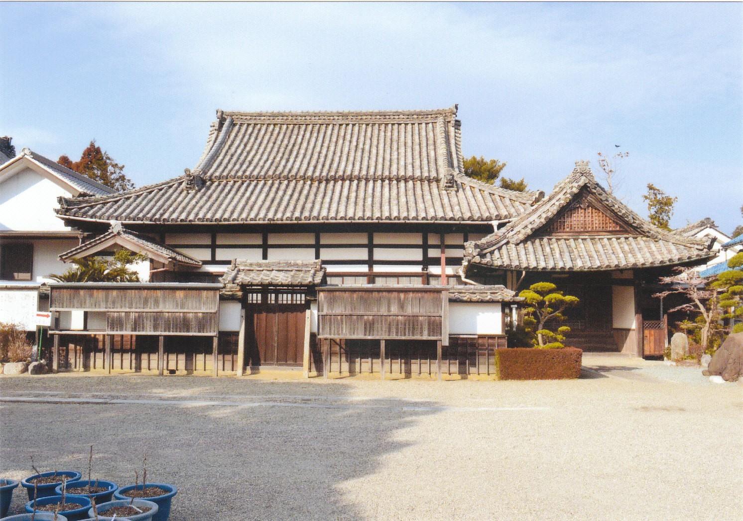 朝田寺客殿(書院)