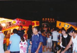 朝田地蔵会式〜屋台