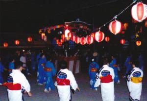 朝田地蔵会式~盆踊り