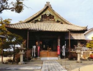 朝田寺 本堂