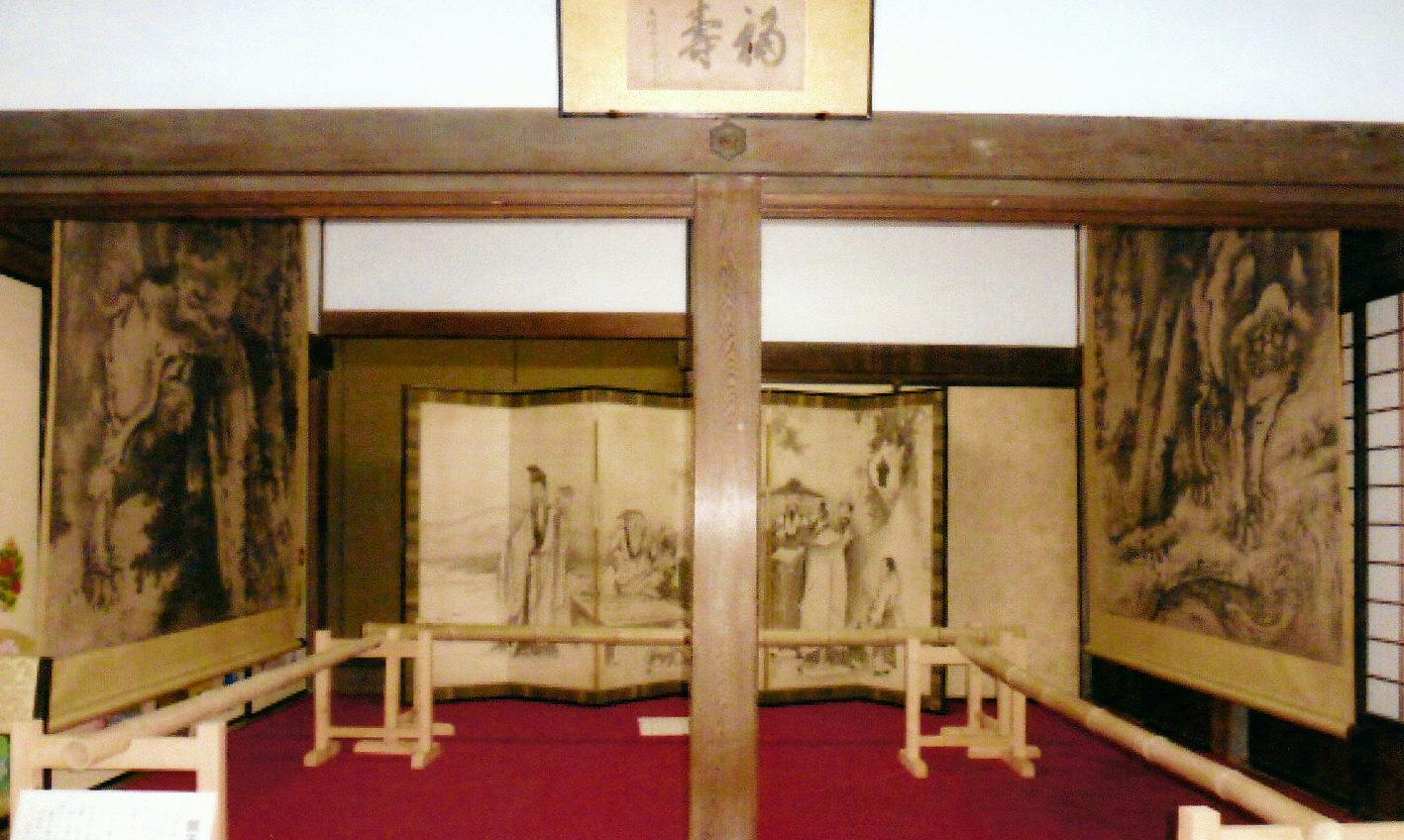 朝田寺の蕭白