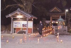 2012朝田寺除夜の鐘