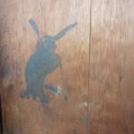 杉戸~萩と兎